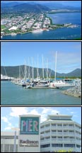 Cairns City - Accommodation,  tours & activities.